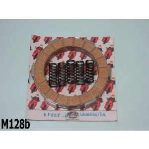 Surflex clutch plates set (4 plates) + springs