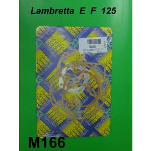 Complete engine gasket set Lambretta E F