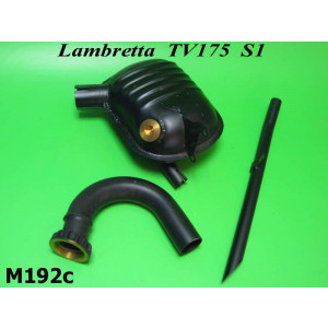 'Innocenti' Exhaust silencer + U bend + tailpipe TV175 S1