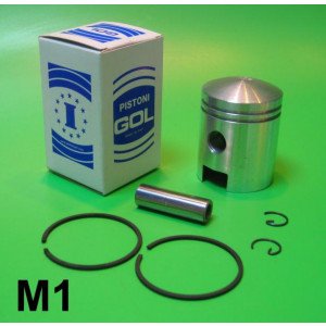 Complete 125cc piston kit for Lambretta A + B + C + LC + D + LD 125cc