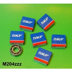 Crankshaft + rear transmission (6203) bearing kit Lambretta D + LD 125cc