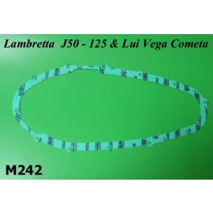 Engine sidecasing gasket for Lambretta J / Vega / Lui