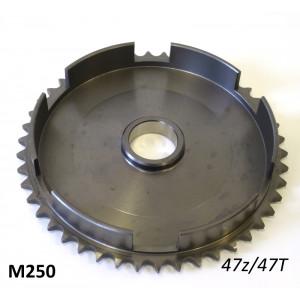 47T clutch bell sprocket crownwheel for Lambretta Lui 50cc