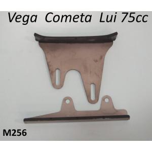 Pair of top and bottom chain guides for Lambretta Lui Vega Cometa (75cc models)