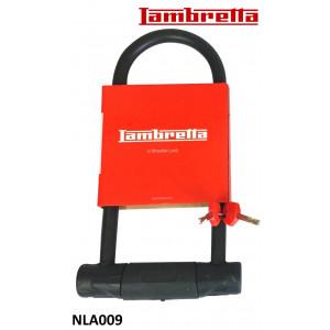 High quality steel U-lock for Lambretta V-Special (+ and all classic Lambretta models)
