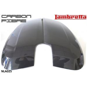 Pair of carbon fibre sidepanels (left + right hand) for Lambretta V-Special 50 - 125 - 200