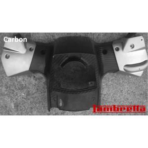 Carbon handlebar base for Lambretta V-Special 50 - 125 - 200