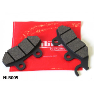 Pair of FRONT brake pads for Lambretta V-Special (all models)