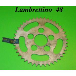 Rear sprocket 42T Lambrettino 48