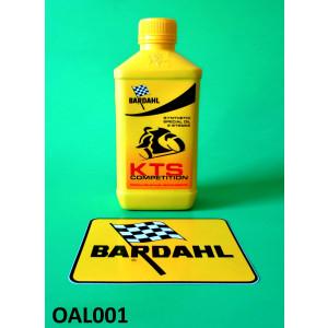 Bardahl KTS COMPETITION Olio miscela 100% sintetico 2T
