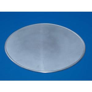 Aluminium racing number plate oval