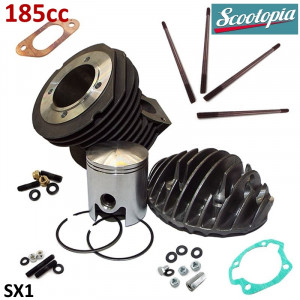 Scootopia 185cc conversion kit for Lambretta 125-150-175 (small block engines)