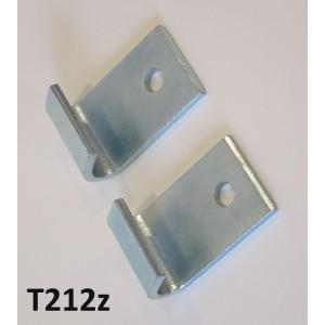 Pair of splashplate stand hooks (economic version) for Lambretta S2 + S3 + DL GP