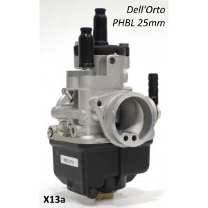 Dell'Orto PHBL 25mm carburettor for Lambretta 125cc - 225cc