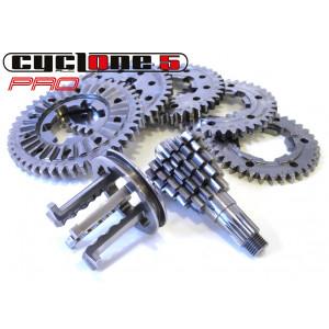 Complete 'Cyclone 5 Pro' gearbox kit for Lambretta S1 LI + S2 + S3 + GP / DL + Serveta