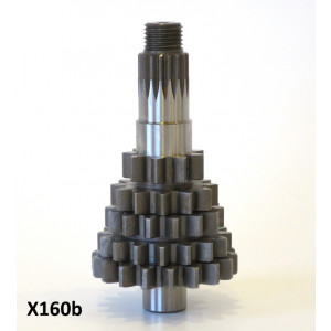 Cyclone 5 Speed cluster (for gearbox versions Batch 2-7)