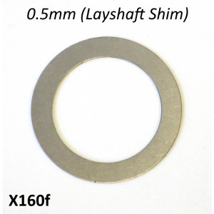 Special 0.5mm LAYSHAFT shim for Cyclone 5 Speed gearbox