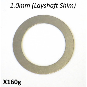 Special 1.0mm LAYSHAFT shim for Cyclone 5 Speed gearbox