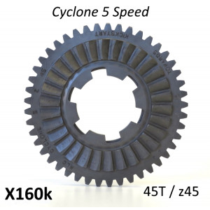 High Quality replacement 45T 1st gear cog for 'Cyclone 5 Speed' gearboxes