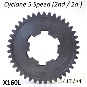 41T 2nd gear cog for Cyclone 5 Speed gearbox