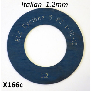 High quality Italian made 1.2mm 1st gear shim