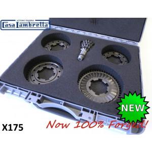 Casa Lambretta forged close ratio 4 speed gearbox