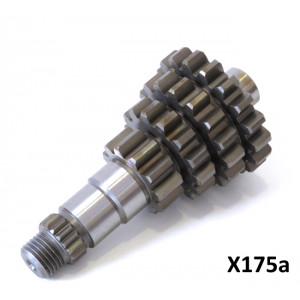 Cluster (only) for close ratio 4 speed Casa Lambretta gearbox (item X175)