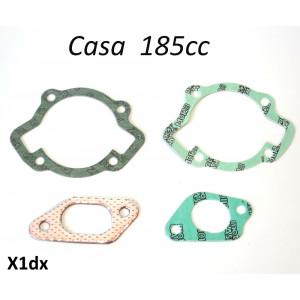 Gasket set for Casa 185cc cylinder kits