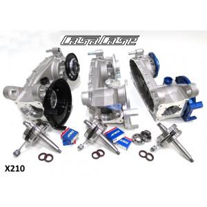 Casa Performance CasaCase engine casing kit Lambretta S1 + S2 + S3 + SX + DL / GP