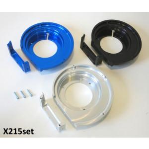 CNC flywheel flange set for CasaCase engine casing (for both standard + CNC X213 flywheel cowlings)