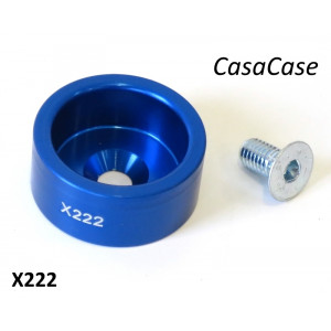 Bumpstop support housing (anodised BLUE) for CasaCase engine case