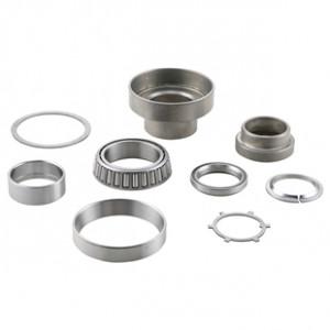 SIP V2 fork roller taper bearing set Lambretta S1 + S2 + S3 + Special - Chrome ring Version