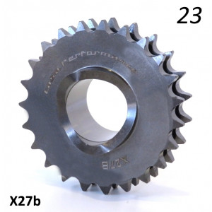 Casa Performance HQ 23T front drive sprocket for Lambretta S1 + S2 + S3 + Special + TV3 + SX + GP