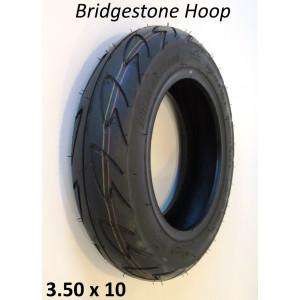 "Copertone pneumatico Bridgestone Hoop (rienforced) tipo Tubeless 3.50 x 10"""
