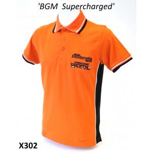 'BGM Supercharged Italia' Polo shirt (male)