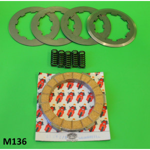 Complete Surflex 4 plate clutch (corks + steels + springs)