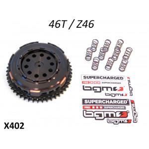 Clutch BGM PRO Superstrong - 46t - 10 springs + 6 plate - Lambretta S1 + S2 + S3 + SX + DL / GP
