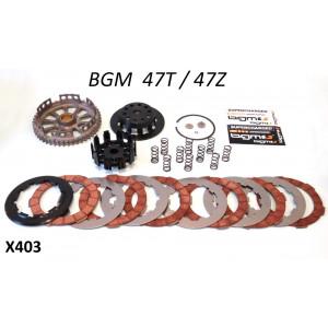 Clutch BGM PRO Superstrong - 47t - 10 springs + 6 plate - Lambretta S1 + S2 + S3 + SX + DL / GP