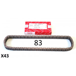 VERY HIGH QUALITY 83 link Iwis drive chain