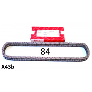VERY HIGH QUALITY 84 link Iwis drive chain for 21T x 47T sprocket combinations