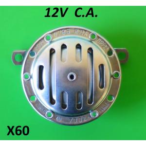 12V CA horn (NON BATTERY MODELS)