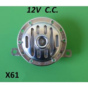 12V CC horn (BATTERY models)
