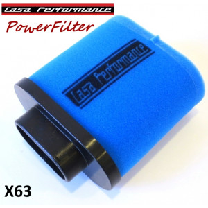 Casa Performance PowerFlow remote airfilter Lambretta S1 + S2 + TV2 + S3 + TV3 + Special + SX + DL + Serveta