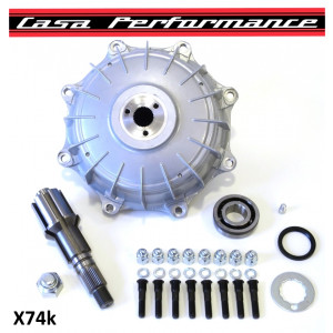 Casa Performance COMPLETE 'Octopus' 8-stud multispline rear hub + layshaft KIT