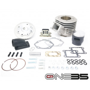 NEW!!! Complete 'CP One35' cylinder conversion fit for all Lambretta J + Lui / Vega Cometa models