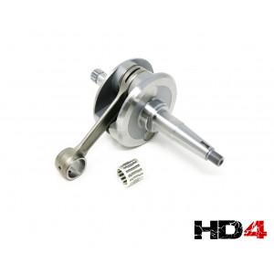 Casa Performance 'HD4' complete crankshaft for Vega 75cc + J125 Starstream 4 speed engine casings