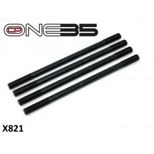 Set of 4 x high quality cylinder studs Lambretta Cento + J125 + Starstream + CP One35