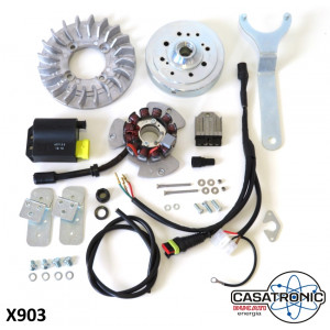 Casatronic Ducati 'SPORT' 12V electronic ignition kit for LARGE CONE