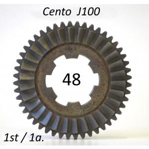 48T 1st gear cog for Lambretta J100 Cento (3 speed)