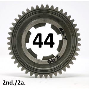 44T 2nd gear cog for Lambretta J125 M4 Starstream 4 speed models